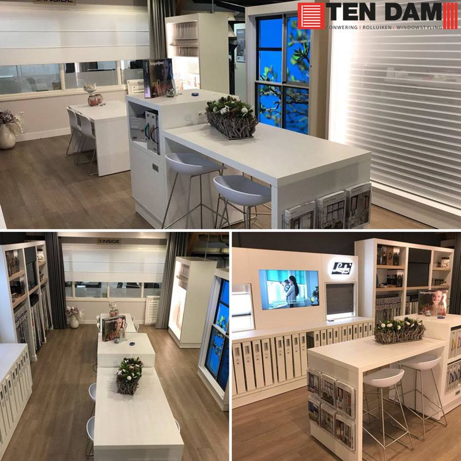 Ten Dam Zonwering Showroom